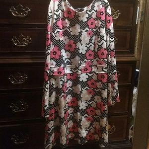 SimplyBe Tunic Flower Pattern Dress